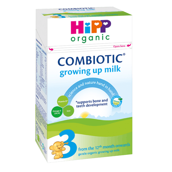 HiPP UK Stage 3 Combiotic Organic Growing Up Milk Formula (12+ Months) 600g