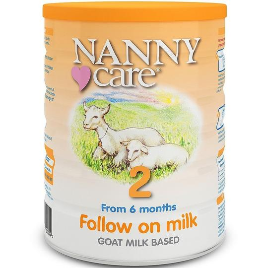 NANNYcare UK Stage 2 Goat Milk Follow On Milk Formula (6-12 months) 900g