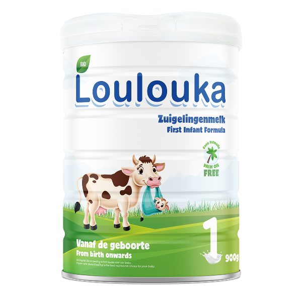 Loulouka Stage 1 Organic Cows Milk Infant Formula (0-6 months) 900g