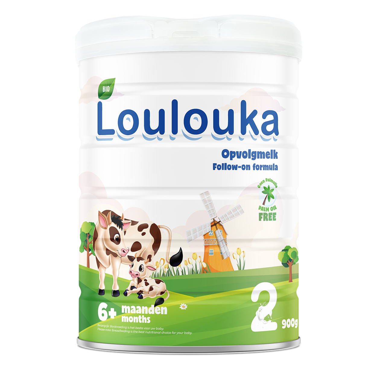Loulouka Stage 2 Organic Cows Milk Infant Formula (6-12 months) 900g