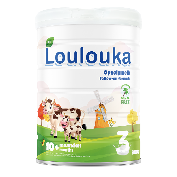 Loulouka Stage 3 Organic Cows Milk Infant Formula (10+ months) 900g