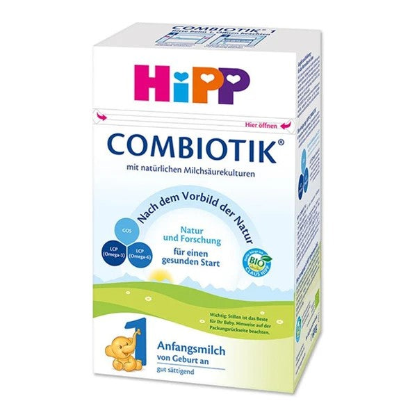 HiPP German Stage 1 Combiotic Organic First Infant Milk Formula (0-6 Months) 600g