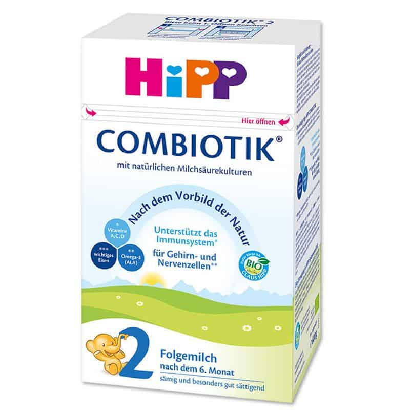 HiPP German Stage 2 Combiotic Organic Follow On Milk Formula (6+ Months) 600g