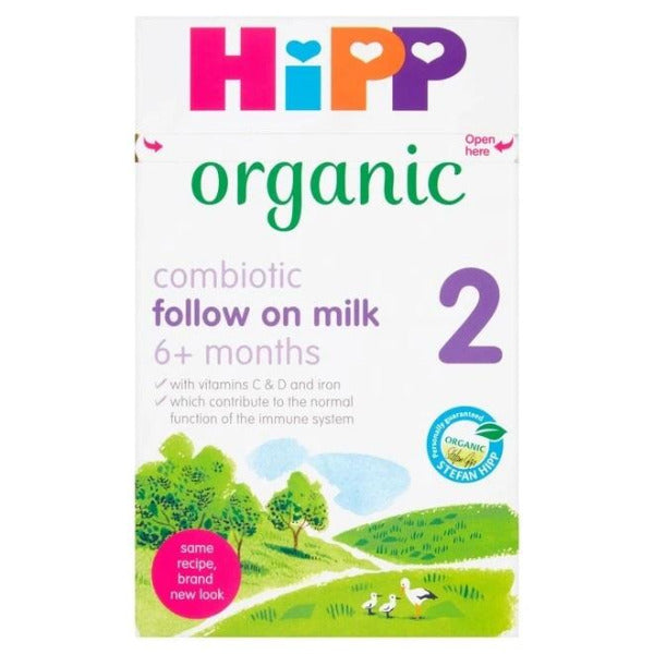 HiPP UK Stage 2 Combiotic Organic Follow On Milk Formula (6+ Months) 800g