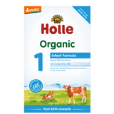 Holle UK Stage 1 Organic Cows Milk Infant Formula (0-6 months) 400g