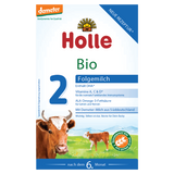 Holle Stage 2 Organic Cows Milk Infant Follow-on Formula (6+ months) 600g
