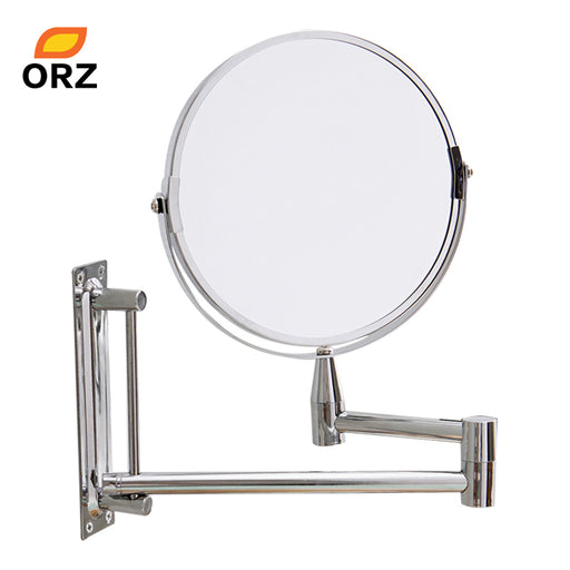 "7"" 3X Magnifying Extend Double Side Makeup Wall Mirror"
