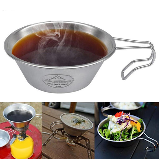 Ultralight Stainless Steel Cup Pot