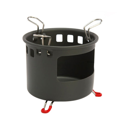 Outdoor Cookware Pot Stove Set for Camping