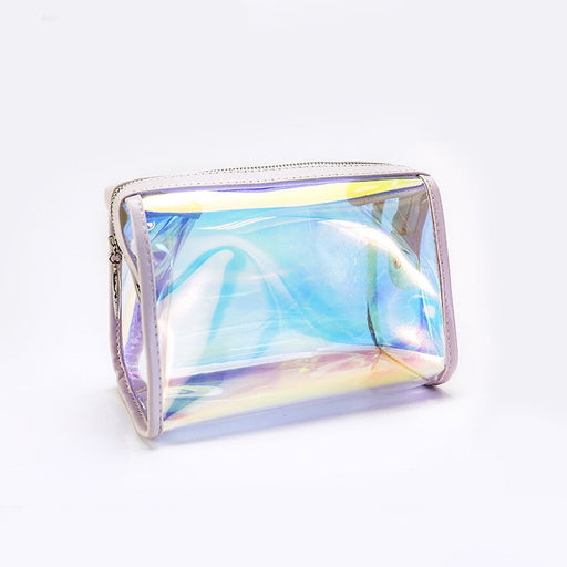 ANTS STRONG Holographic Transparent Waterproof Cosmetic Bag
