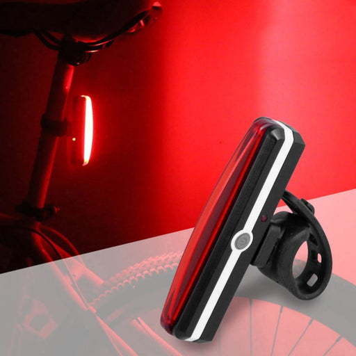 Bright USB Rechargeable Bicycle Rear Light
