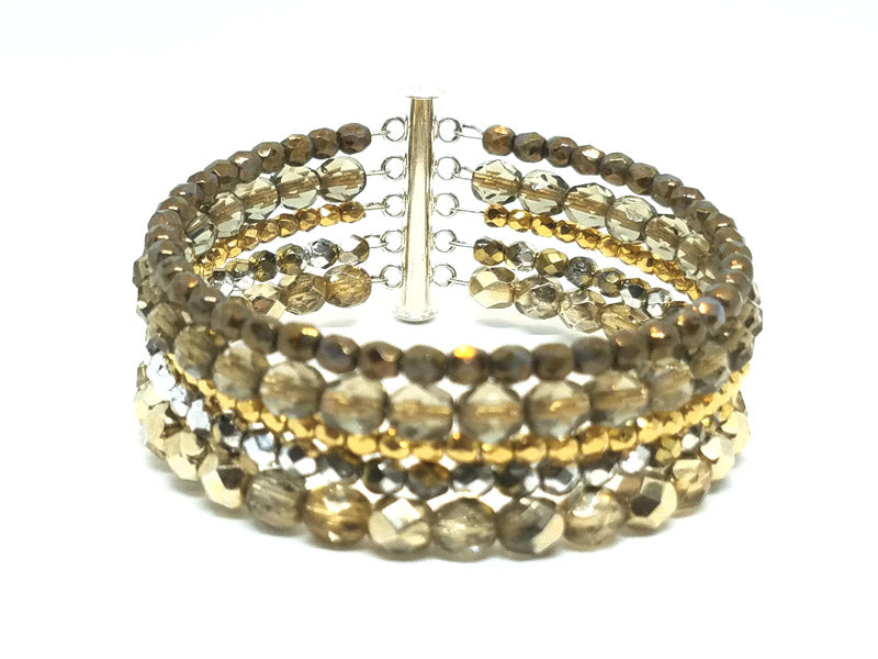 Copy of 5 Layers of gold bracelet