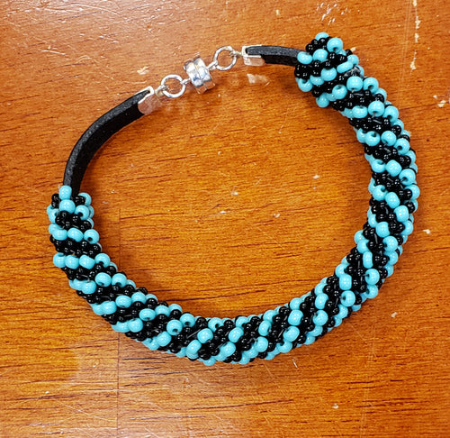 Russian Spiral Leather Bracelet  Class