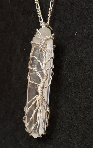 Tree of Life on a Colombian Quartz Point