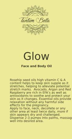 Glow Facial and Body Oil for Pregnancy