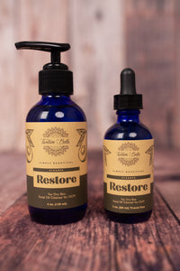 Restore Facial Oil Cleanser