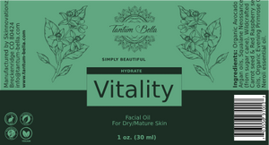 Vitality Facial Oil for Dry/Mature Skin