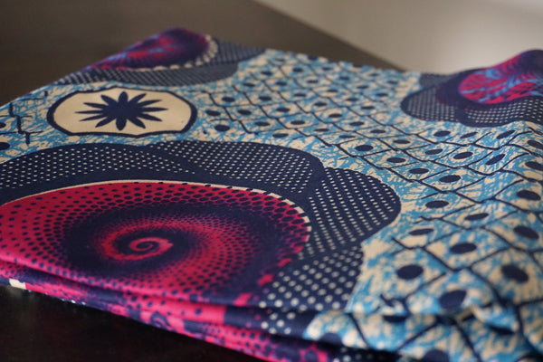 African Wax Flower Prints