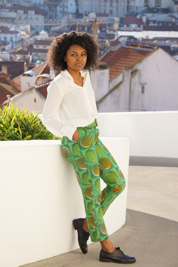 Green Mingha Trousers