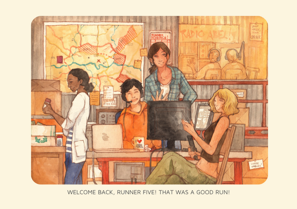 Welcome Back, Runner Five Poster
