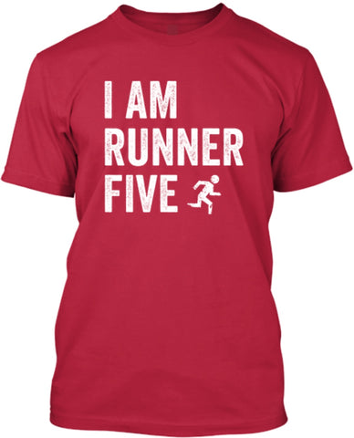 I Am Runner Five Shirt - Athletic Tech