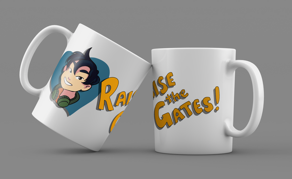Sam Yao - Raise the Gates mug