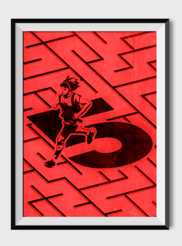 Red Five Maze poster