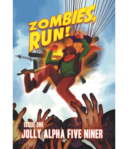 Zombies, Run! Comic: Jolly Alpha Five Niner (Issue One)