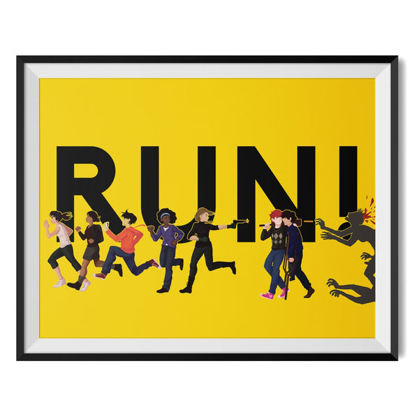 Everyone, Run! Poster