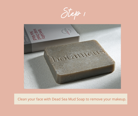 Step 1. Dead Sea Mud Soap