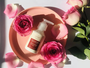 Face & Body Milk With Rose Essential Oil