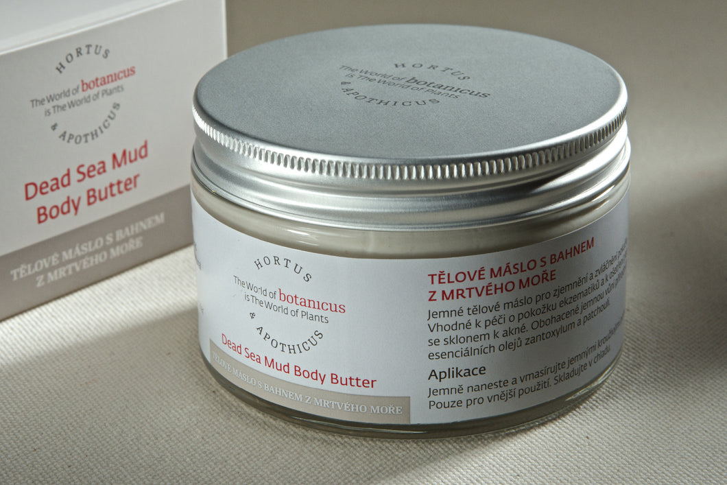 Dead Sea Mud Body Butter