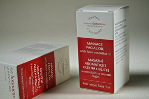 Facial Massage Oil with Rose Essential Oil