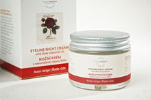 Load image into Gallery viewer, Eyeline Night Cream with Rose Essential Oil