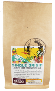 CBD Infused JIMMY'S GRAN CREMA ESPRESSO