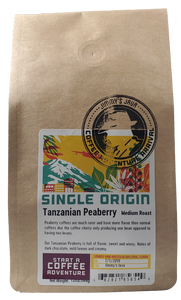 CBD Infused Tanzanian Peaberry Mbeya Mimba Estate-Medium Roast