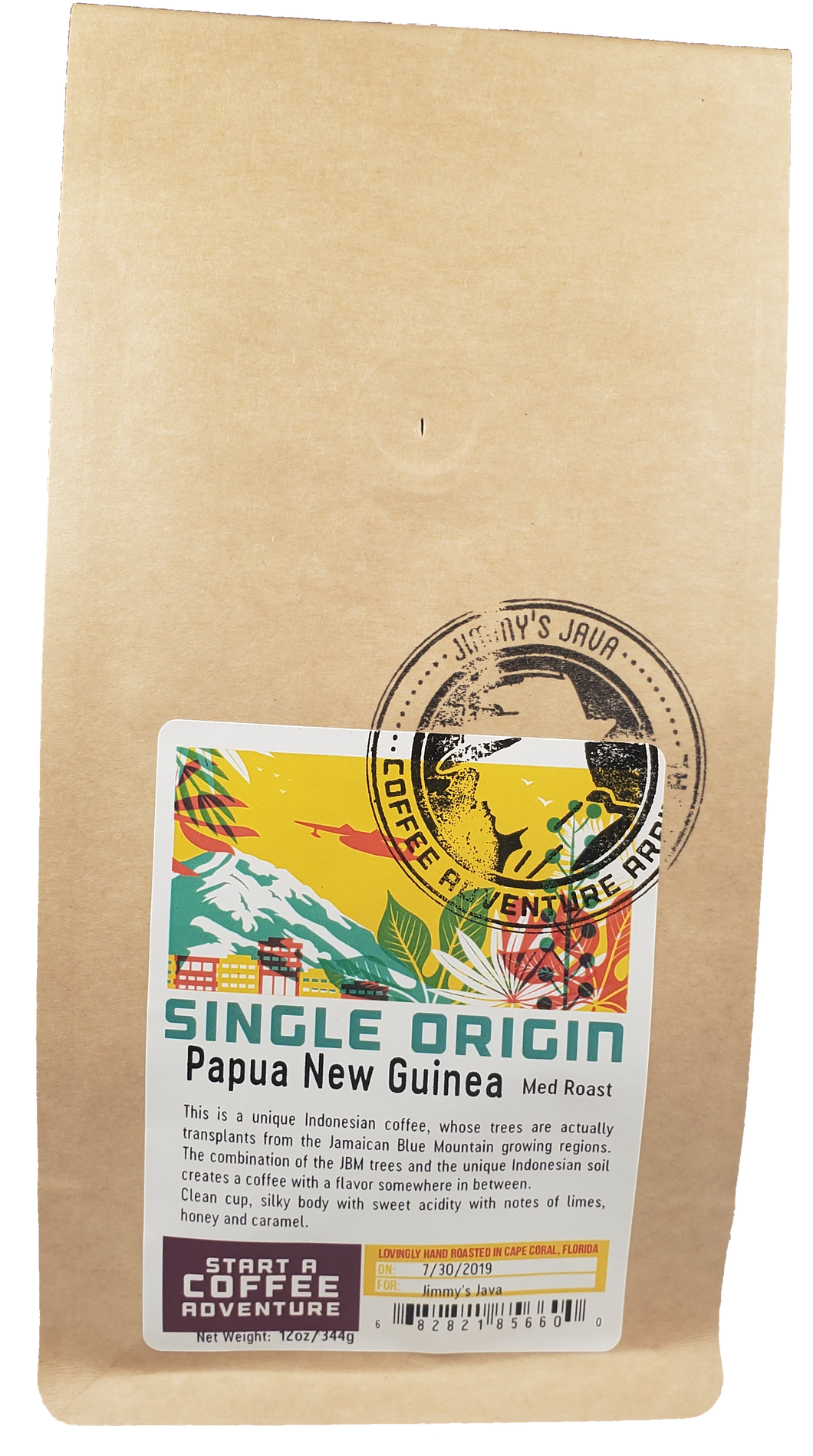 CBD Infused Papua New Guinea Timuza Medium Roast