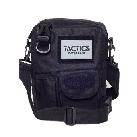 Tactics Alpha Water-Resistant Sling Bag-Black