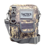 Tactics Alpha Water-Resistant Sling Bag-Armat Gray
