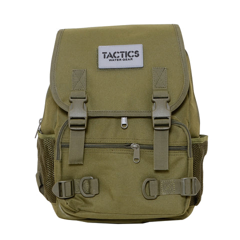 Tactics Rush Water-Resistant 15L Backpack-Army Green