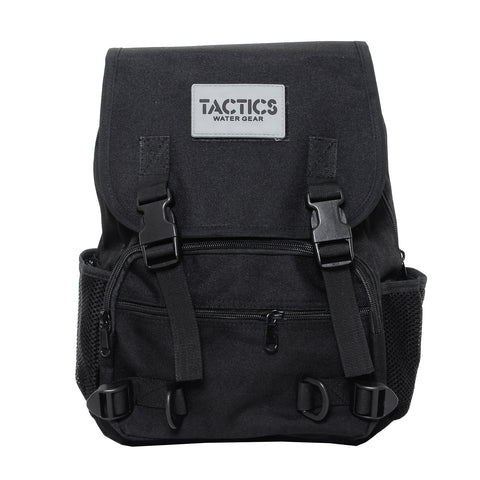 Tactics Rush Water-Resistant 15L Backpack-Black
