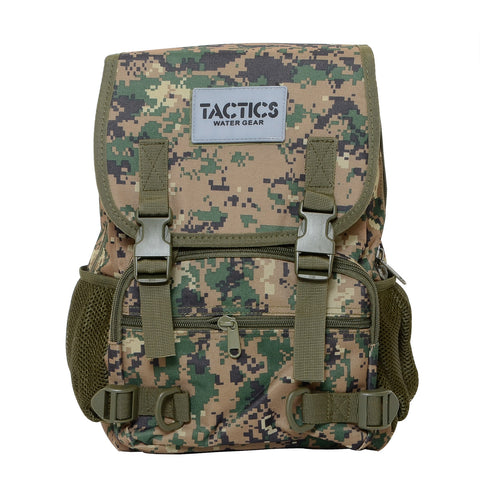 Tactics Rush Water-Resistant 15L Backpack-Armat Army Green