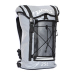 Tactics Voyager Waterproof Motorcycle Bike Hiking 25L Backpack-Gray