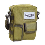 Tactics Alpha Water-Resistant Sling Bag-Army Green