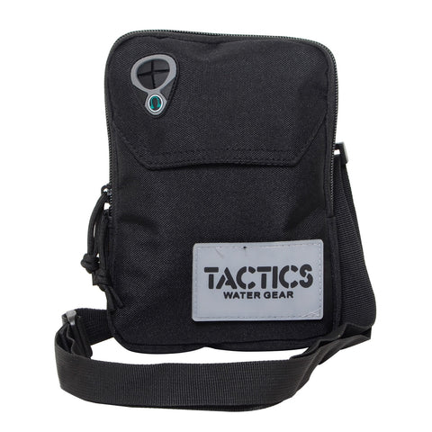 Tactics Water-Resistant Travel Undercover Neck Bag-Black