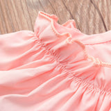 Butterfly Wings Ruffles Dress