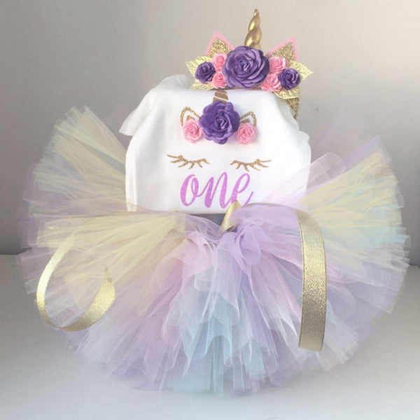 Birthday Cake Smash Tutu Dress