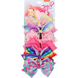 6 Pieces/Set Handmade  Unicorn Ribbon Bows