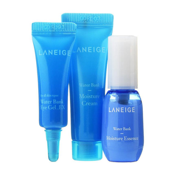 LANEIGE - Water Bank Moisture Kit 3pcs