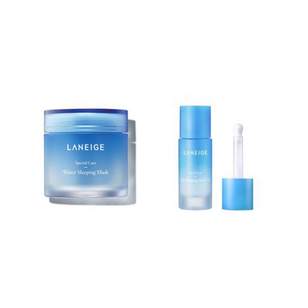 Laneige - Sleeping Face & Eye Set (Face + Eye)